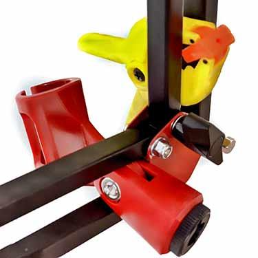 Angled Boom Arm Adjustment Detail